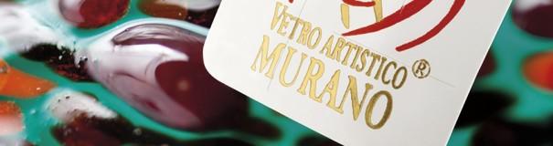 Bollino marchio Vetro Artistico® Murano