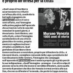 MURANO CON VENEZIA - la nuova 16 11 2012
